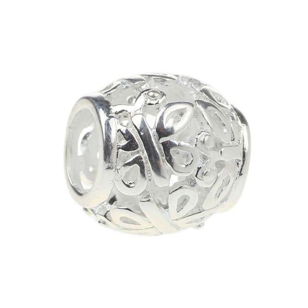 Perlen Hunter Jewelry Authentic 925 Sterling Silber Flying Butterfly Charm Modeschmuck Big Hole Perle Für 3mm European Bracelet Schlangenkette