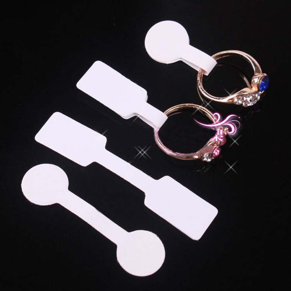 top popular Jewelry Price Tag Paper Cover Rings Cards Write Size In The Tags Round and Square Optional Wholeslae Free Shipping - 0013hook 2021