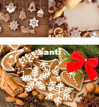 11 pcs/lot Hanging Ornament Snowflakes Decor Polymer Clay Drop Pendants Christmas Tree Baubles Decoration Enfeites De Natal Ornaments Set