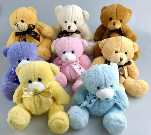 top popular Teddy Bears Plush Toys Stuffed Plush Animals Teddy Bear Stuffed Dolls Baby Small Teddy Bears Toys 2020