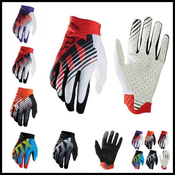 Fashion Design FOX MTB Racing Gloves 5 Colors Winter Motocross Dirtpaw Rockstar Full Finger Protective Gear for Ski Bike