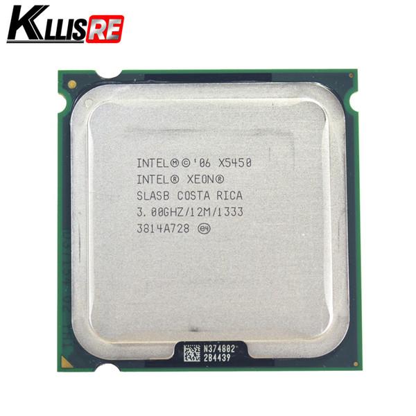 Der Prozessor Intel Xeon X5450 mit 3,0 GHz, 12 MB und 1333 MHz arbeitet auf dem Motherboard LGA775