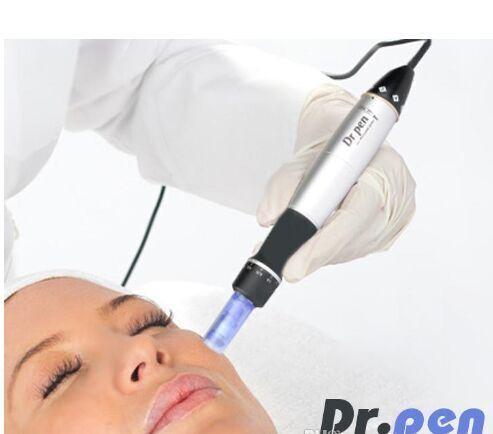 6 Hız Derma Kalem Electic Oto Mikro İğne Dr.pen Dermapen Dermastamp 12 İğneli 3.0mm Meso Kalem Değiştirilebilir Kartuş