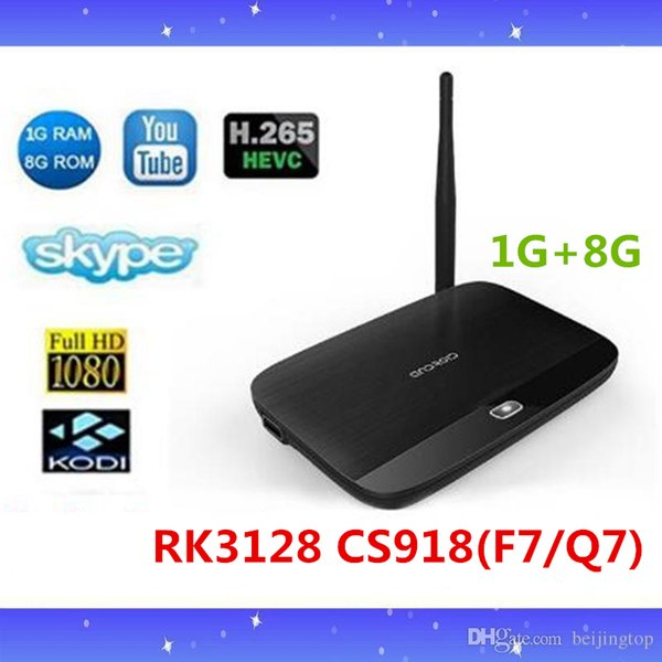 F7 Q7 Cs918 Quad Core 1g/ 8g Rk3128 Android4 4 Tv Box Smart Tv Media Player  Google Tv Box Mini Pc Android Box Tv Best Android Tv Box From Beijingtop,