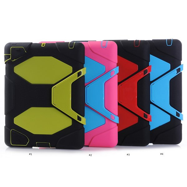 For iPad mini 1,2,3 cases Defender Military Spider Stand Water/dirt/shock Proof Case Cover with retail package DHL free shipping