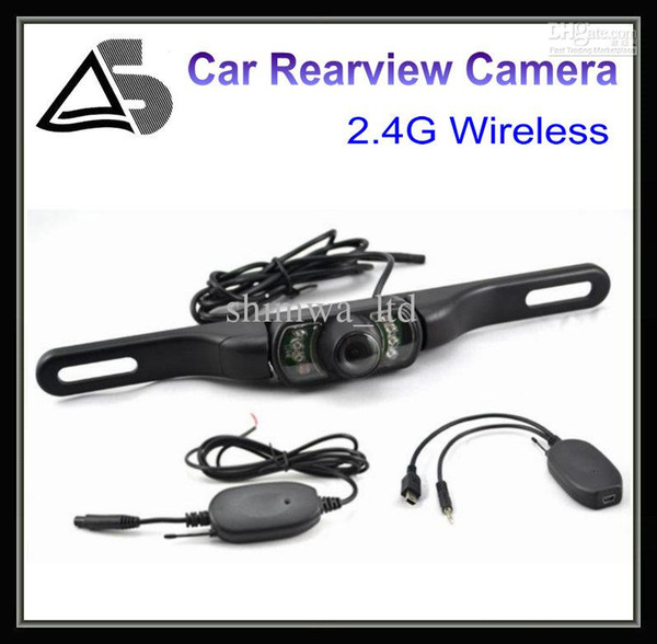 best selling 2.4 G Wireless Car Rear View Camera Backup Camear Reverse Camera 170 Angle Lens