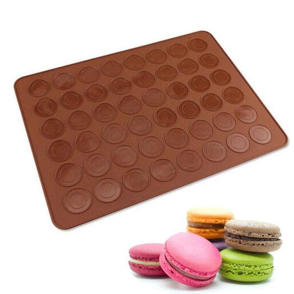 Cottura al silicone Macarons Mat Cake Cookie Chocolate Molds Strumenti di cottura per stampi 30 Cavità