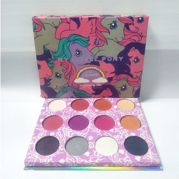 Stock! Fasion Makeup Palette Colourpop My Little Pony Pressed Powder  Eyeshadow Face Cosmetics For Girls Teens Palette Dhl Free With Bulk Price  $5 53,