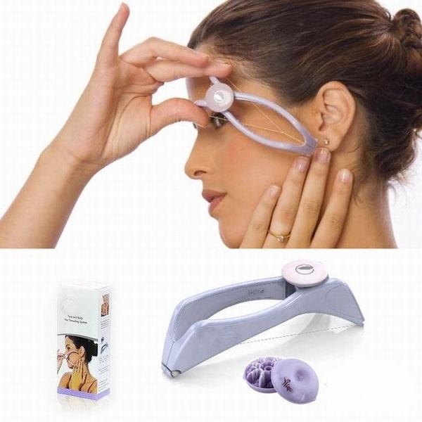 Hot New Body Hair Epilator Threader System Facial Hair Removal Makeup Beauty Tools Uncharged HB88
