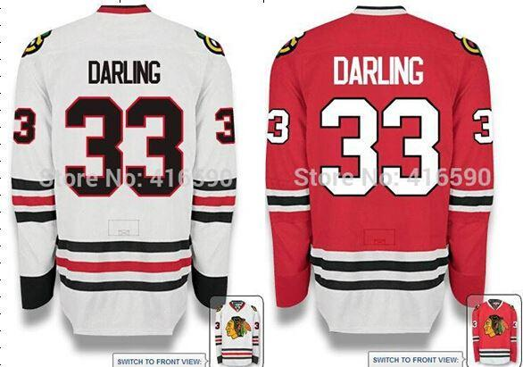 2019 2014 15 Scott Darling Jersey Chicago BLACKHAWKS  33 Scott ... 2dba659f9