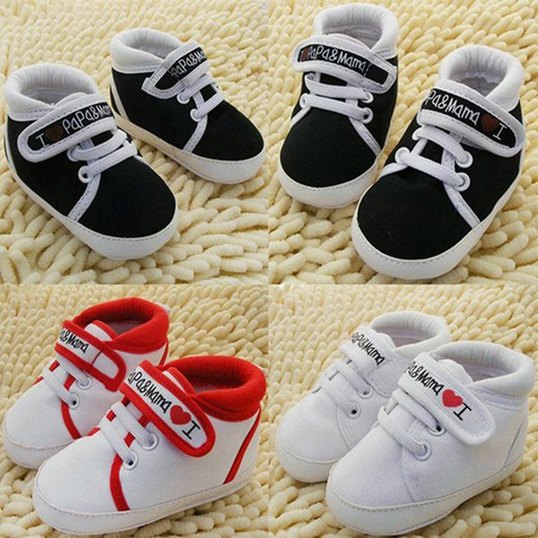 New 2017 Toddler Shoes Anti Slip Footwear Boys Girls Infant Baby Shoes Canvas Cotton Soft Sole Canvas Sneaker Baby First Walkers Bebe Schuhe