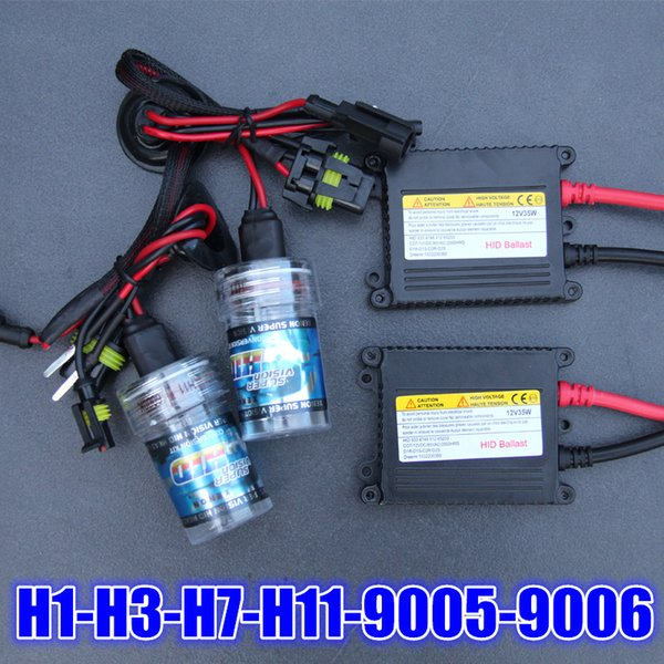55W Heavy Duty Fast Bright H1 H3 H7 H8 H9 H11 9006 HB4 AC HID Conversion Kit