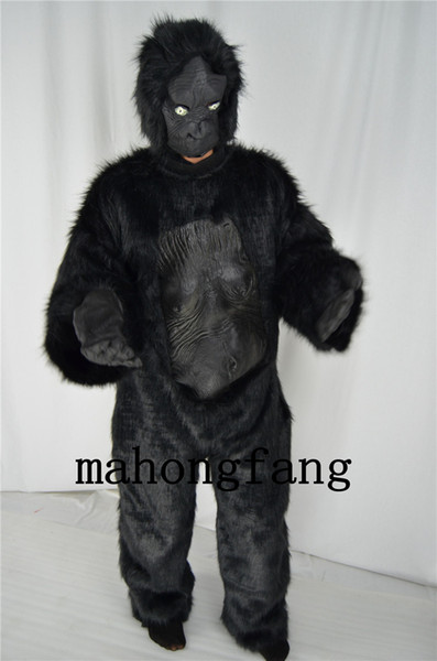 2015 Wholesale--Chimpanzees Mascot costume Adult Size for Easter Halloween party Holiday DecorationFree Ship