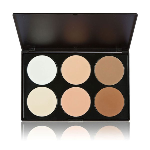 6 color Contour Palette Powder Cream Professional Contouring Makeup