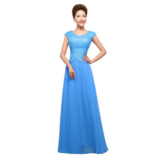 Cheap Wholesale Fashion Long Evening Dresses 2016 New Elegant ...