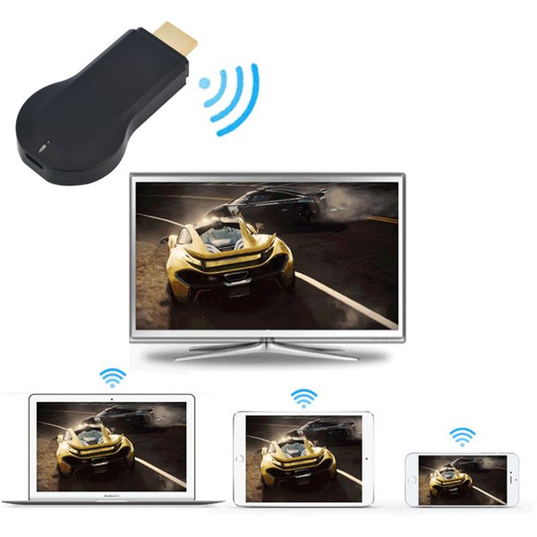 Sıcak 1080P Smart TV Stick Dongle WiFi wi fi Ekran Alıcısı DLNA Airplay Miracast Airmirroring Chromecast Media Player