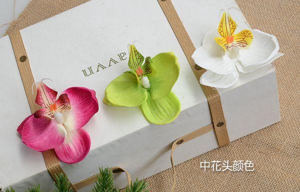 2018 9cm artificial orchid flowers petals silk orchid fabric petals 9cm 100pcs artificial orchid flowers petals silk orchid fabric petals pefect for wedding decor accessories home mightylinksfo