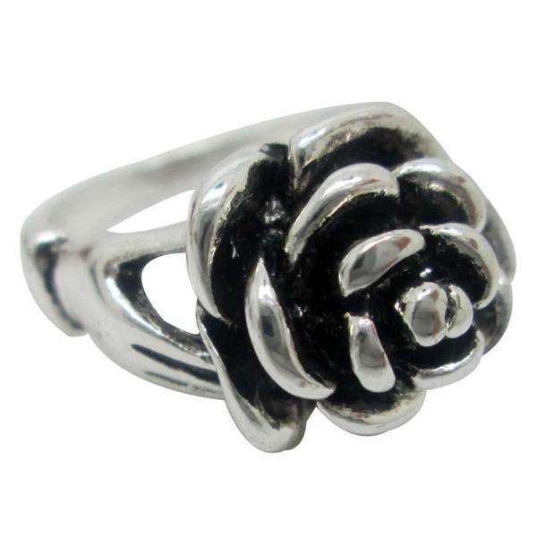 Hohe Qualität Günstigen Preis Blume Form Antik Silber Jewerly Antike Silberne Ring Seil Ring Zink-legierung Schmuck Antike Silber Ringe Für Frauen