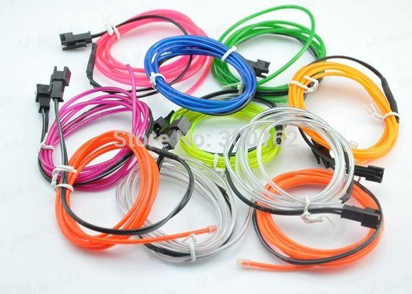 El Strip 5m Flexible Neon Light Glow El Wire Rope Tube Strip Wire ...