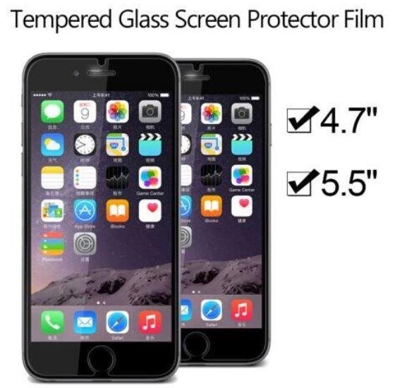 2.5D 0.26mm 9H ausgeglichenes Glas-Schutz-Schirm-Schutz-Film für iPhone 7 6 Plus 5.5