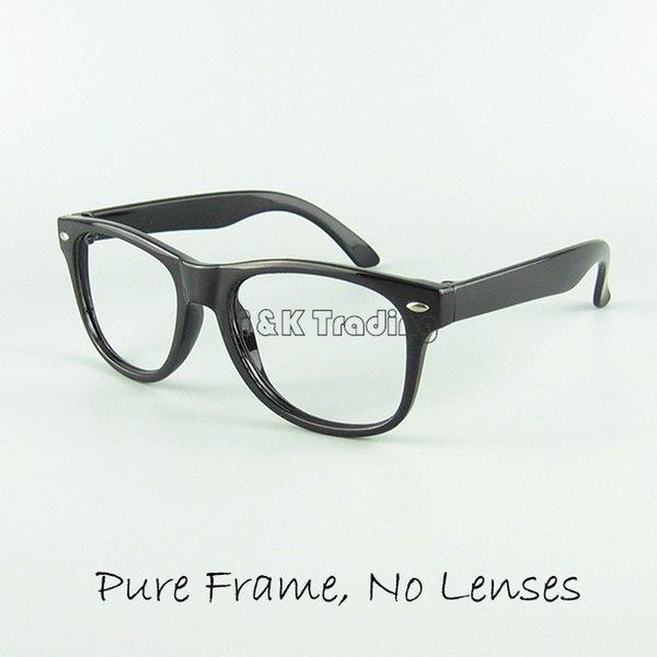 best selling Kids Eyewear Frame Children Funny Toy Sunglasses Frame 12 Candy Colors No Lens Fashion Decoration Eyeglasses