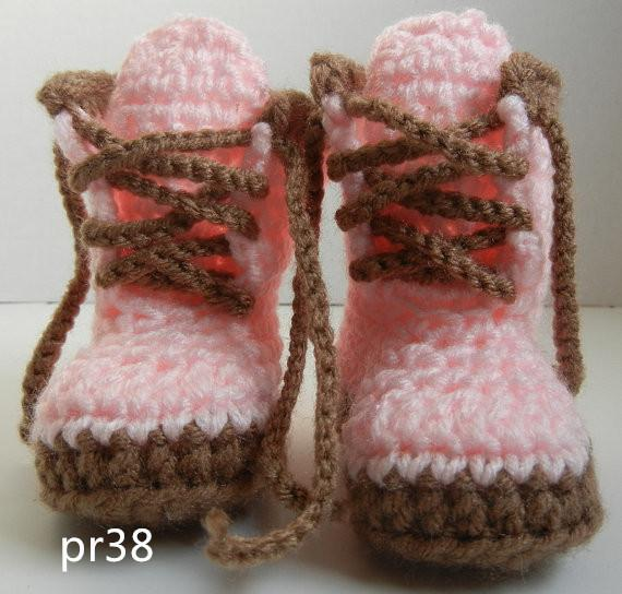 2015 Fashion Pink Crochet Baby Sneakers, Newborn Crochet Shoes, Infant Crochet Booties, Baby Girl Shoes, Boots for girls 0-12 age