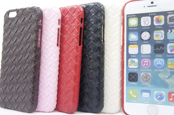 Weave Plait Braid Knit Pattern Phone Case For Iphone 6 47inch 55