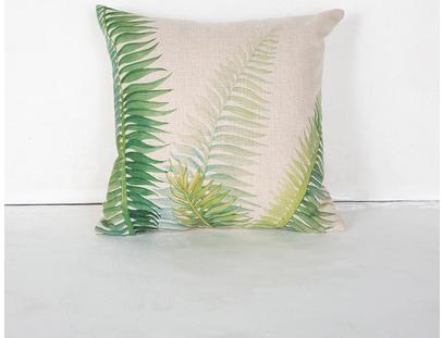 Funda de almohada con diseño de dibujos animados de Europa, cojín del sofá, cojín decration con cojín interno, tamaño de tela de algodón 43 * 43 cm, pesa 180 g