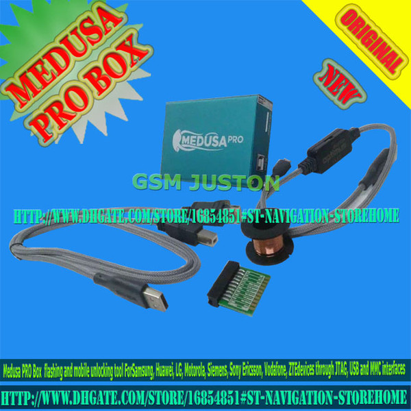 Medusa Box Medusa PRO BOX +Testpoints + JTAG Clip Unlock&Flash&Repair For LG, Samsung, Huawei, ZTE