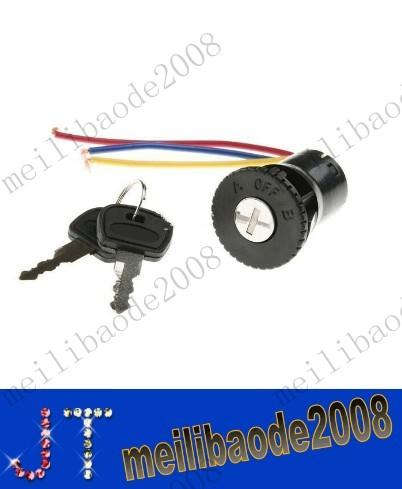 FREE SHIPPING Ignition Switch Key Lock Set for Scooters ATV Go Kart MYY10335A