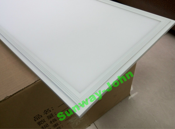 2019 Silver White Frame Led Panel Light 36w 48w 72w 80w 300x1200 600x600 2x2 2x4 Ft Led Flat Ceiling Panels Lights Recessed Lighting Lamps From