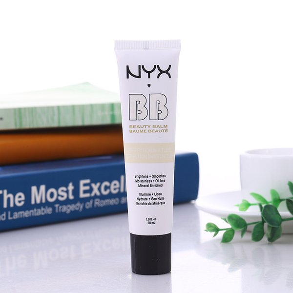 NYX Concealer BB Cream 30g Moisturizing Foundation 4 Color Naked Makeup Base Isolation Body Concealer Cream Beauty Product
