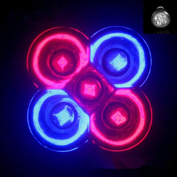 E27 GU10 Bombilla LED Lámpara de crecimiento 15W 3Red 2Blue LED Lámpara de planta Hidropónica Crecer Bombillas Jardín Invernadero LED Bombillas Luz de acuario