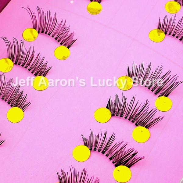 All'ingrosso-10 coppie fatte a mano ciglia finte false ciglia finte ciglia strumenti di trucco di bellezza B01