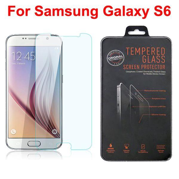 0.33 mm 2.5 D для Samsung Galaxy S7 S6 S5 S4 примечание 4 3 2 J1 закаленное стекло-Экран протектор для iphone6 iphone 6 Plus 5 5s 2015 новое прибытие