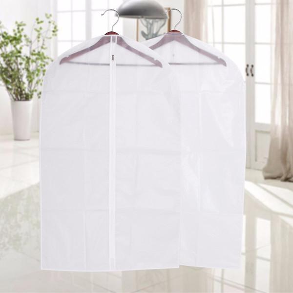 9pcs Cover Protector Wardrobe Storage Bag Case For Clothes Organizador Trench Coat Dress Garment Suit Coat Dust Cover