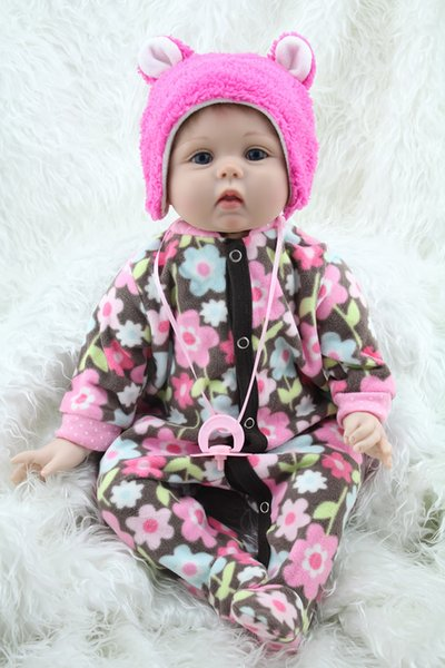 """Wholesale- 22"""" Silicone s Handmade Lifelike Reborn Baby Dolls For Sale Classic Toys"""