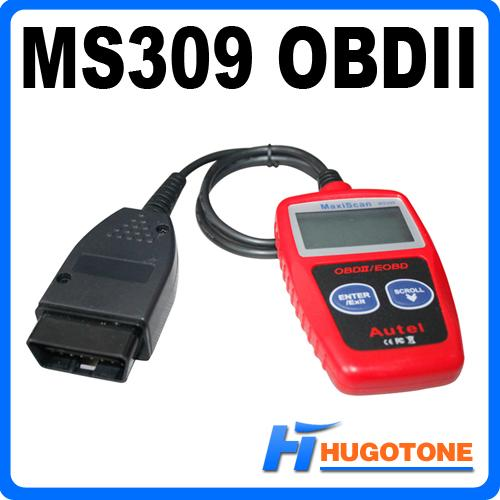 Vehicle Tools Autel Maxiscan MS309 OBDII OBD2 EOBD Car Diagnostic Scanner Code Reader Scan Diagnostic Tool