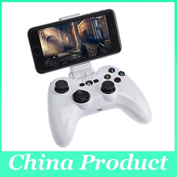 New Original Speedy Wireless Bluetooth Gaming Game Controller Gamepad with Adjustable Clip Holder for iOS Phone Tablet PC 010079