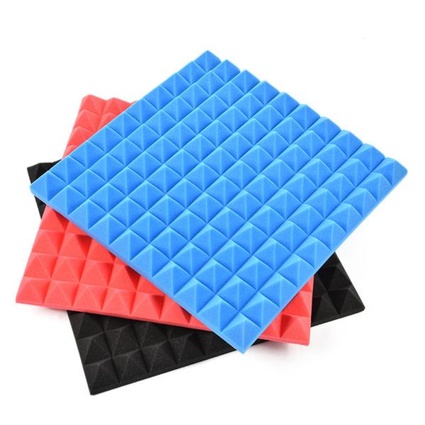 50 50cm Thickness 5cm Acoustic Panels Soundproofing Studio Foam Treatment Sound Proofing Excellent Sound Insulation Decoration Stickers Decor Stickers