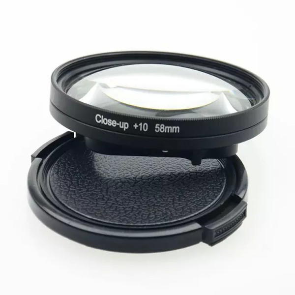 best selling 58mm Macro lens Close-Up +1 +2 +4 +8 +10 times Filter Kit only for hero4 session Camera Lens