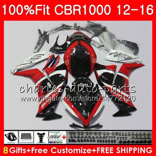 For Honda CBR1000RR CBR 1000 RR CBR 1000RR 2012 2013 2014 2015 2016 Complete Bodywork Fairing Bolts Kit Screws