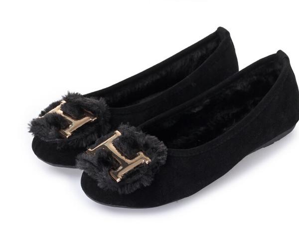 Freies Verschiffen Süße Frauen Mädchen Flache Schuhe Ballett Bowknot Koreanische Art Mokassins Wildleder Ballerinas Loafers Runde Kappe Komfort Arbeitsschuhe