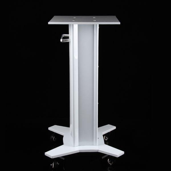 4 Models Iron Handle Salon Stand Assembled Iron Trolley Roller Cart Styling Pedestal Rolling Cart For Hifu RF Skin Lifting Machine
