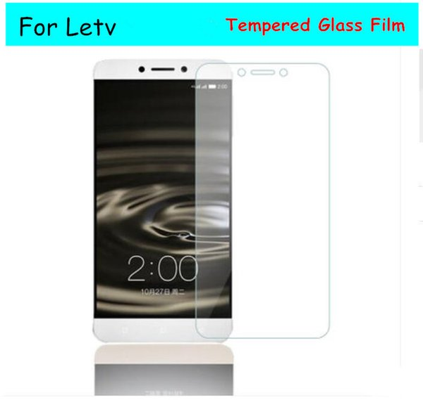 Letv Le1 / Lepro / Max Temperli Cam Ekran Koruyucular ile perakende paket 2.5D 0.26 MM 9 H Anti-Çizilmeye Anti-Parlama kaliteli