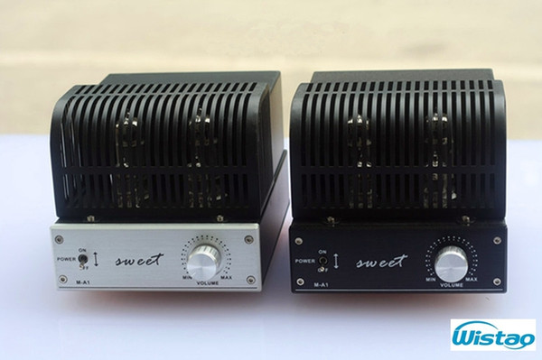 HIFI Mini Tube Amplifier 2x3W Power Class A Single Ended 6J1 Preamplifier  6P1 Power Stage Amplifiers Desktop Audio 110~240V Best Car Speakers Guitar