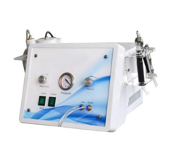 3 em 1 hydra facial dermoabrasão hidro hidro dermoabrasão jato de oxigênio super sucção da pele peeling diamante microdermoabrasão máquina de cuidados da pele