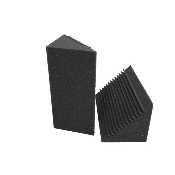 best selling 2 PCS Bass Trap Acoustic Corner Foam Recording Studio Soundproof