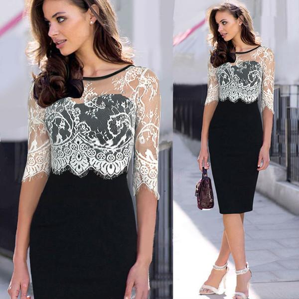Lace Office Dresses