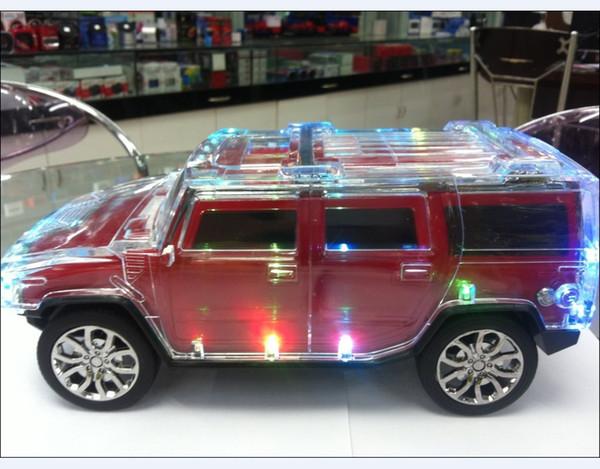Cool WS Car Model Mini Speakers Wireless LED Flash - Cool car models